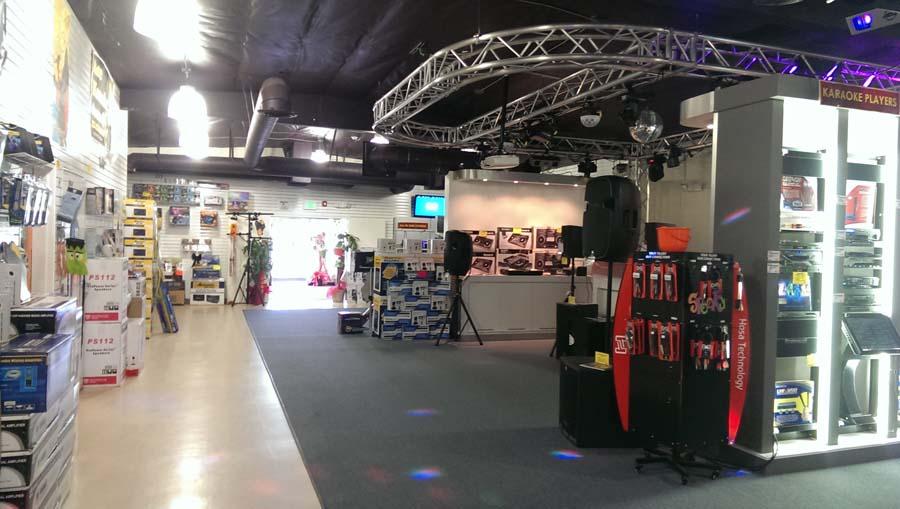 Ace Karaoke Retail Store 3 At City Of San Gabriel Ca 91776